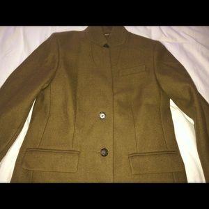 J.Crew Regent Topcoat - Double Serge Wool